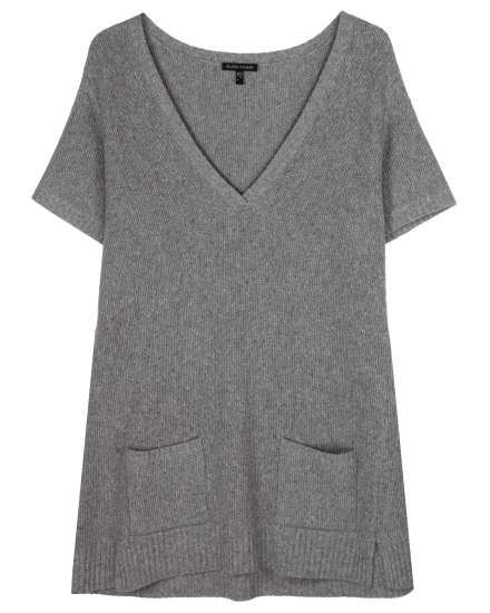 Wool Silk Speckle Pullover