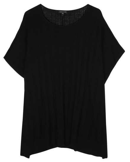 Merino Silk Pointelle Pullover