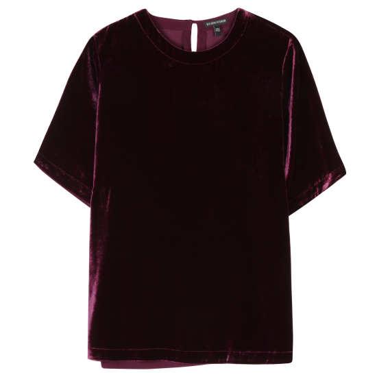 Lined Velvet Tunic