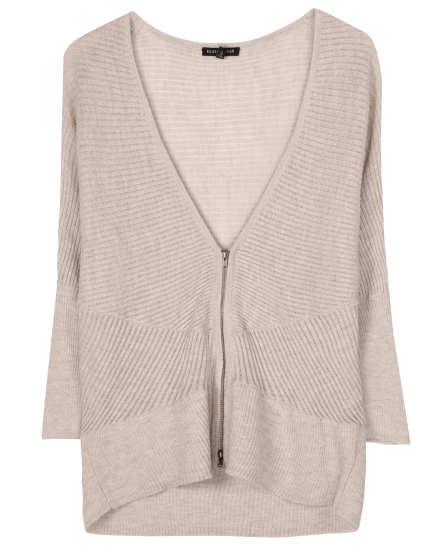 Washable Wool Diagonal Air Pullover