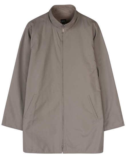 Cotton Nylon with Fleece Lining Coat