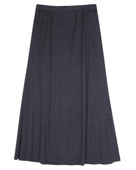 Silk Cotton Jersey Skirt