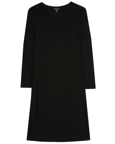 Wool Challis Dress