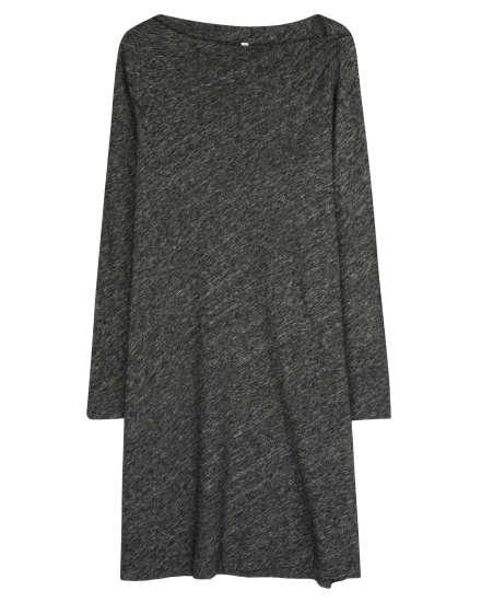 Organic Cotton & Wool Bias Twist Dress