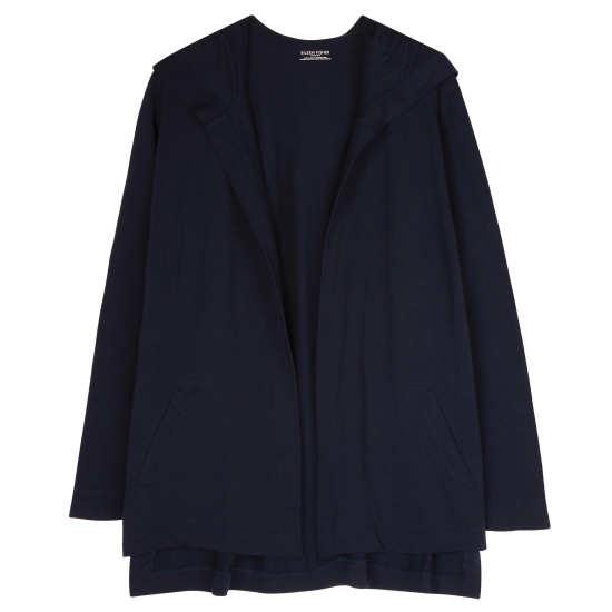 Organic Cotton Stretch Jersey Cardigan