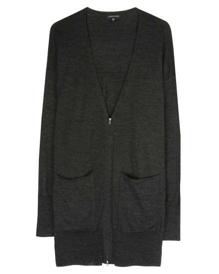 Fine Merino Jersey Jacket