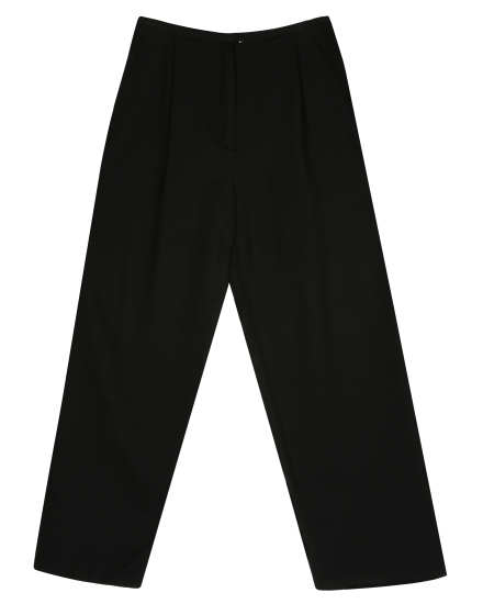 Washable Wool Crepe Pant