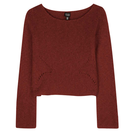 Plus Wool Pullover