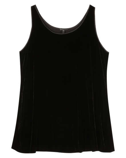 Washable Stretch Velvet Stretch Velvet Tank