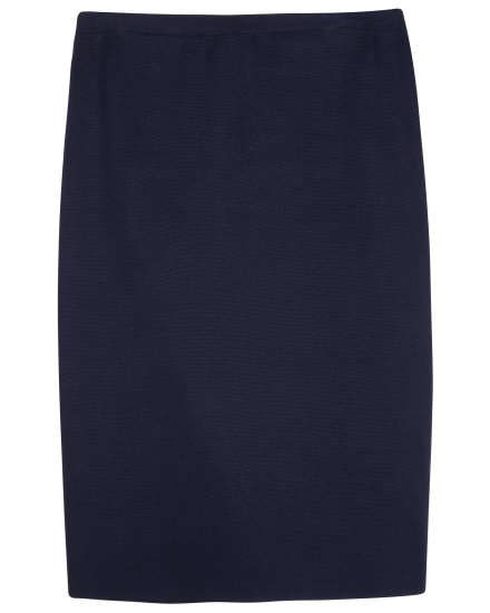 Silk Organic Cotton Interlock Skirt