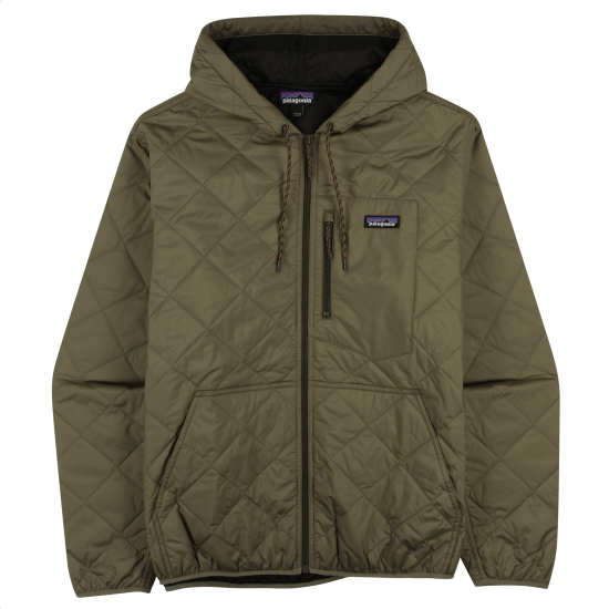 M's Diamond Quilted Bomber Hoody