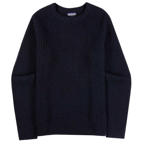 M's Recycled Wool Waffle Knit Sweater