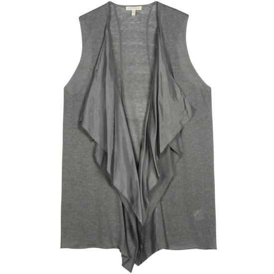 Linen Silk Jersey w/Silk Habutai Vest