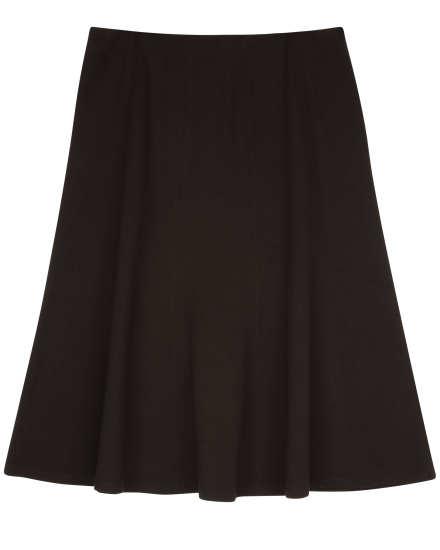 Viscose Stretch Ponte Skirt