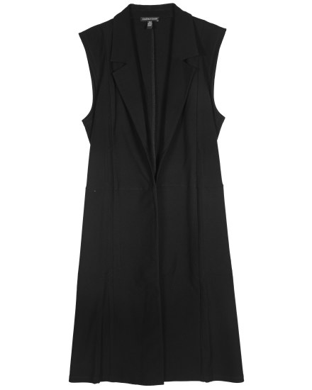 Resewn Washable Stretch Crepe Vest