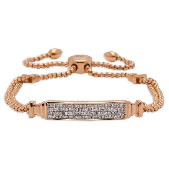 Women's Baja Deco ID Full Diamond Bracelet