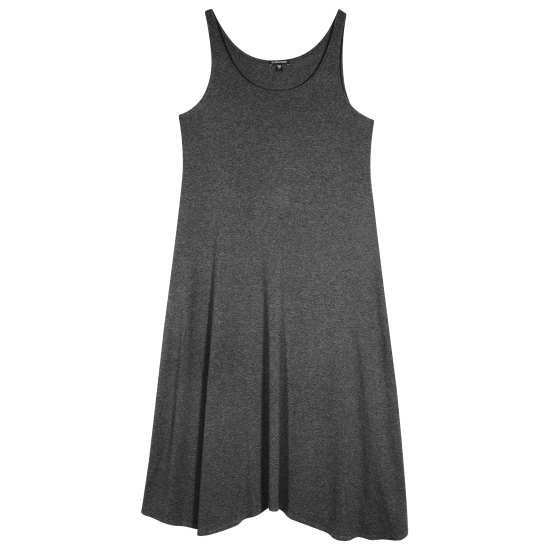 Viscose Jersey Melange Dress