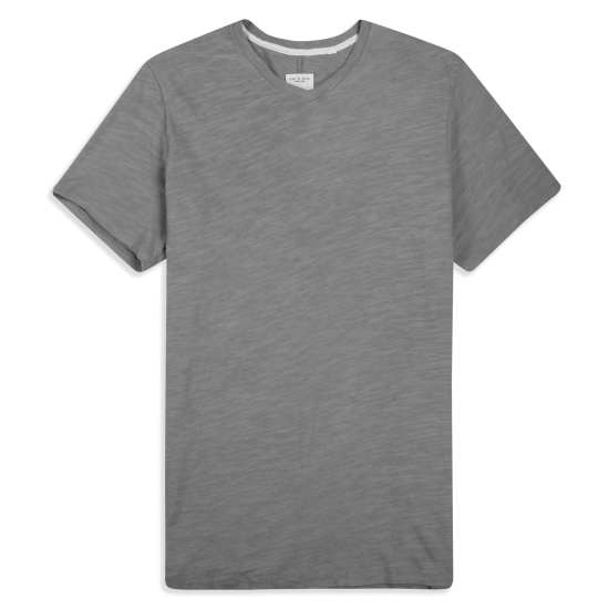 Men's Slub V-Neck T-Shirt