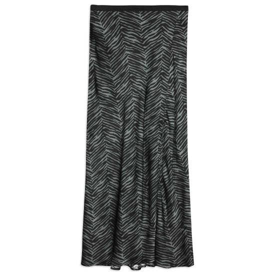 Women's Dolly Silk Midi Skirt