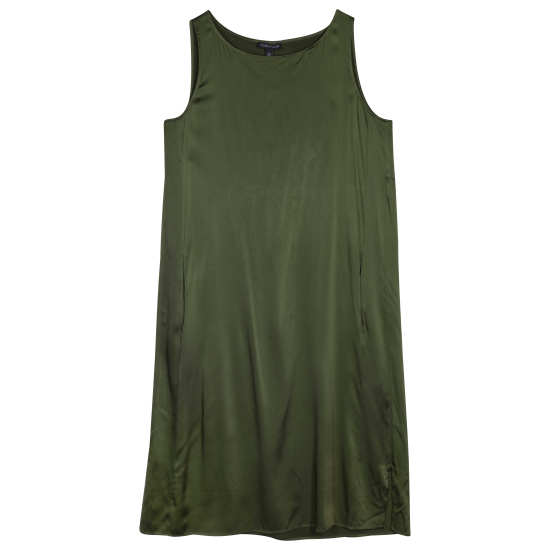 Stretch Silk Charmeuse Dress