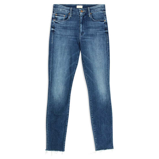 Women's 'The Looker' Frayed Ankle Jeans