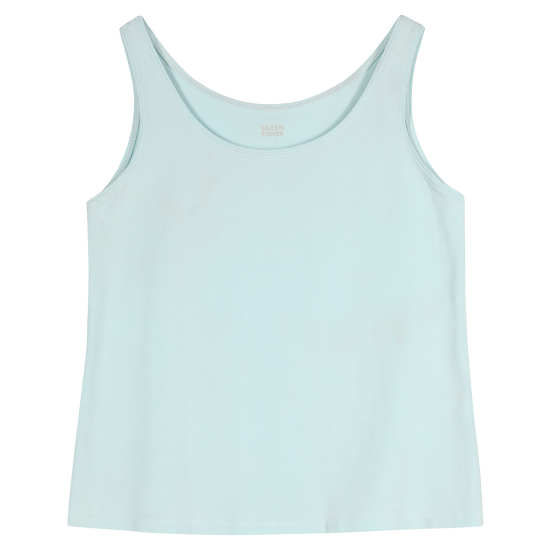 Organic Cotton Stretch Jersey Tank