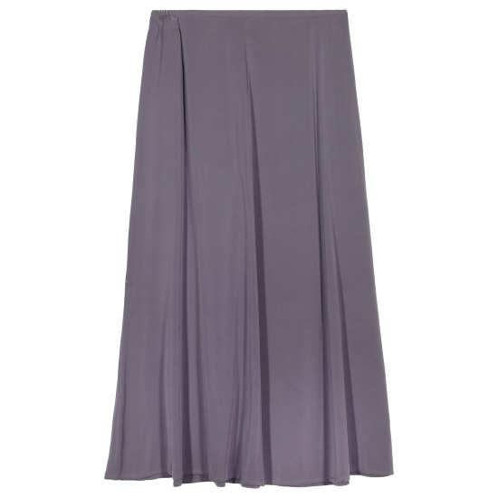 Stretch Silk Georgette Skirt