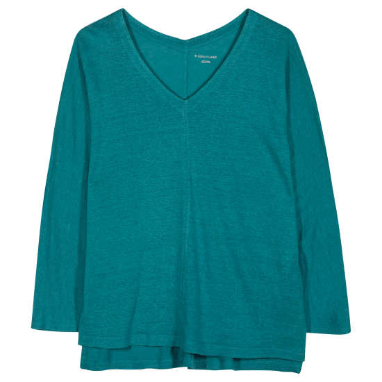 Organic Linen Jersey Tunic