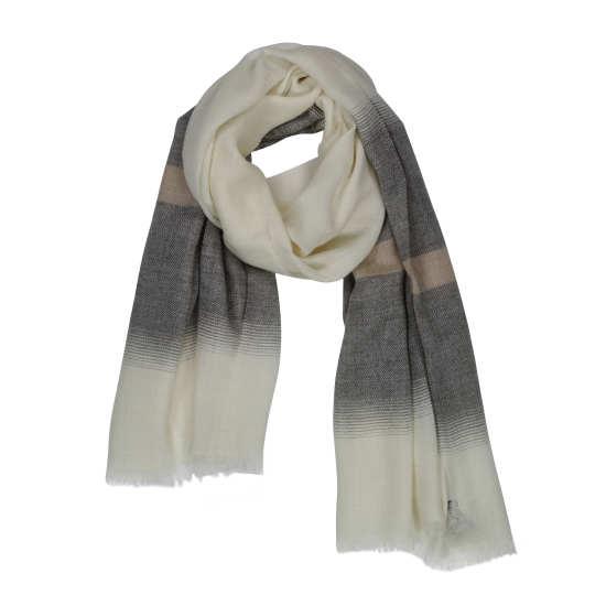 Woven Silk Cashmere Scarf