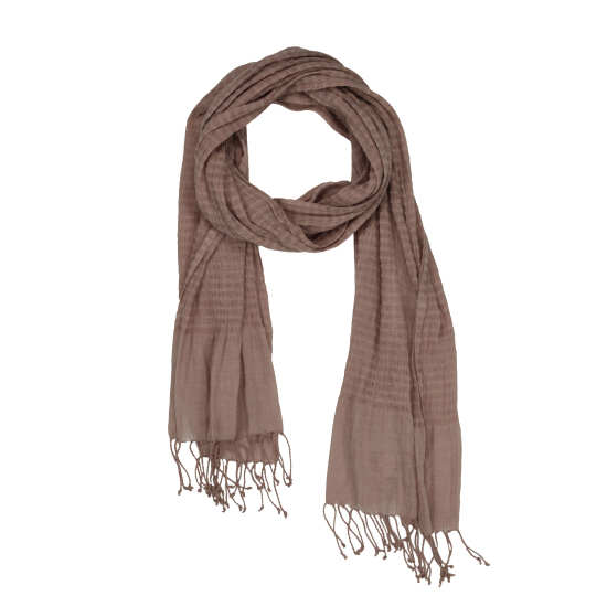 Airy Linen Cashmere Stripes Scarf