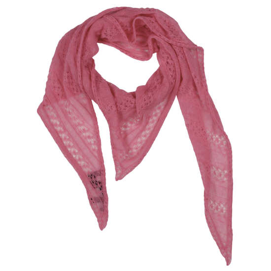 Airy Cotton Pointelle Scarf
