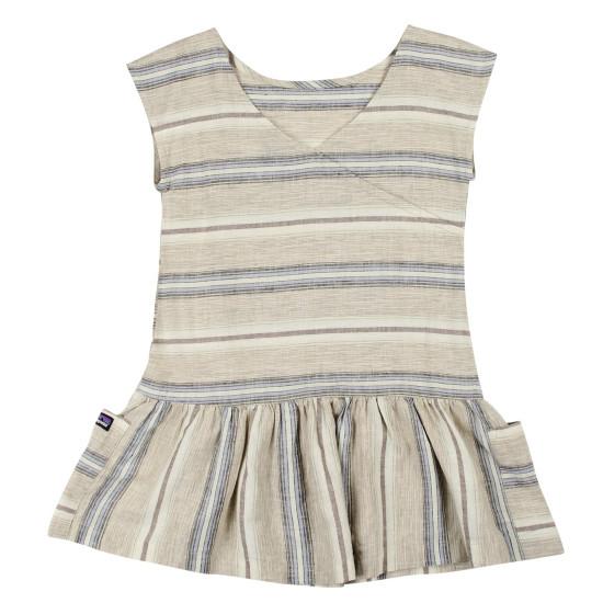 Girls' Lightweight Hemp Dress