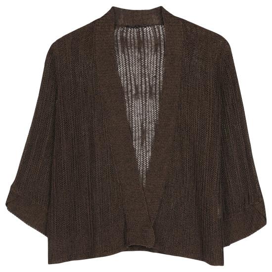 Variegated Linen Silk Cardigan
