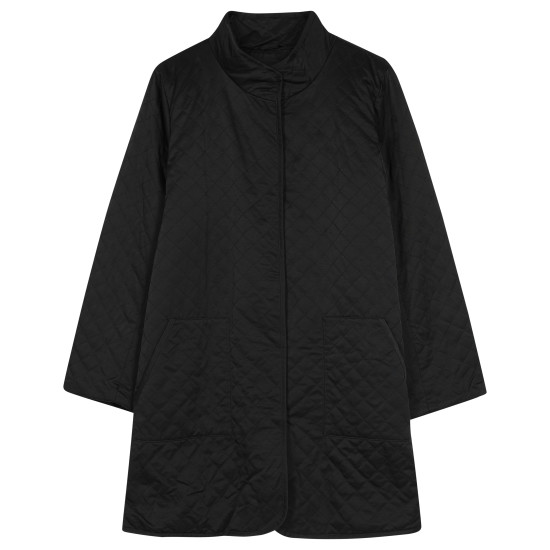 Quilted Cotton Nylon w/Fleece Lining Coat