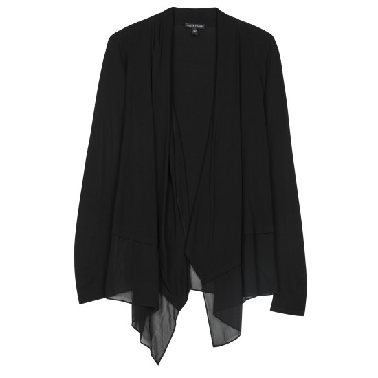 Stretch Silk Jersey with Sheer Silk Jacket