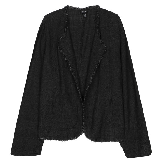 Linen Rayon Tweed Jacket