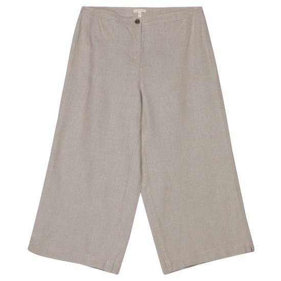 Fine Gauge Linen with Texture Pant