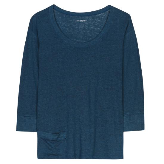 Linen Jersey Pullover