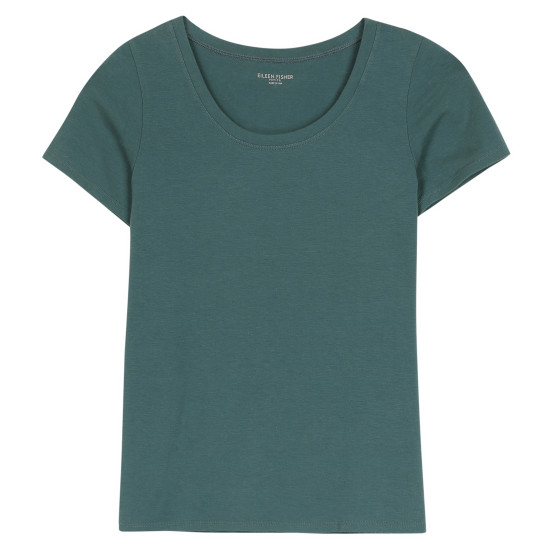 Organic Cotton Stretch Jersey Tee