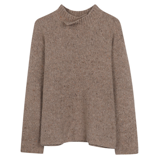 Wool Jersey Pullover
