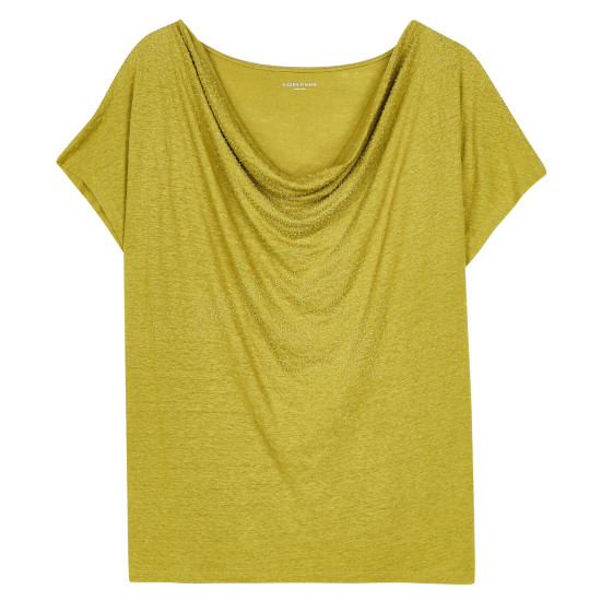 Linen Jersey Blouse