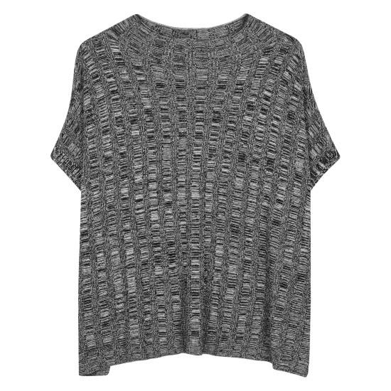 Fine Silk Organic Linen Pullover