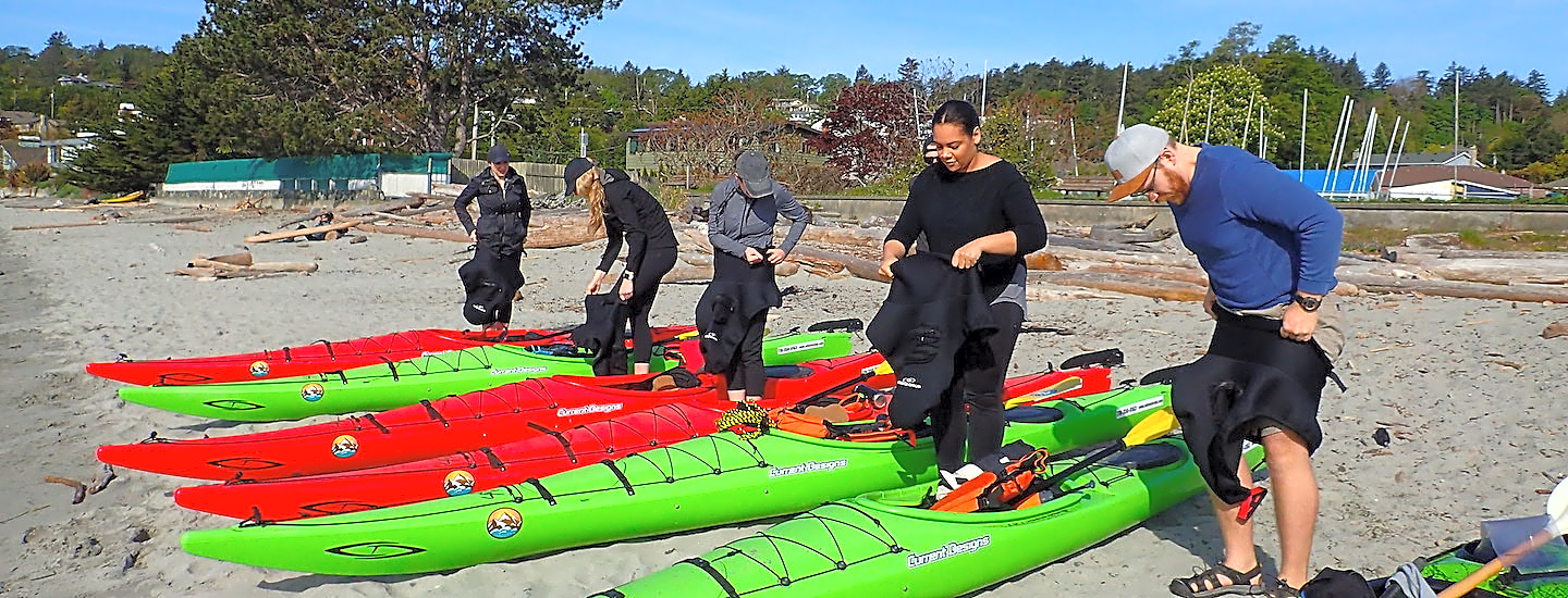 Sea Kayak Tours & Clinics (3 Hrs) - adventure in Victoria