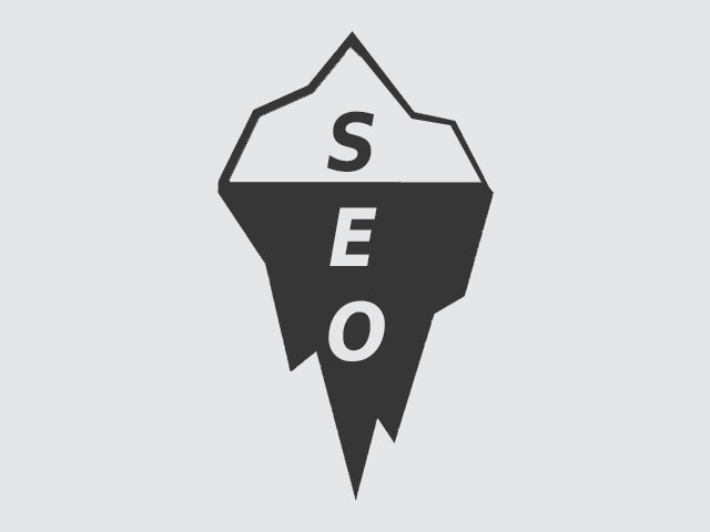 the seo iceberg