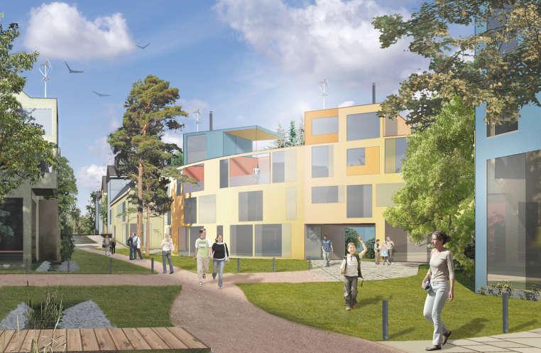 Myytävät asunnot ja uudiskohteet Helsingin Kuninkaantammi