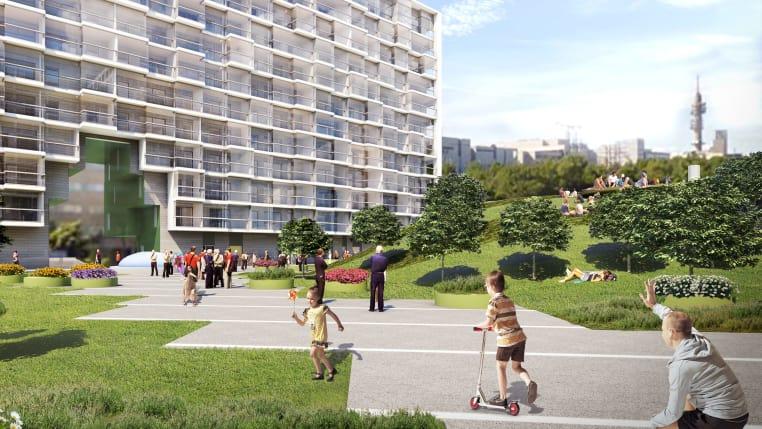 Myytävät asunnot ja uudiskohteet Helsingin Pasilan Triplassa