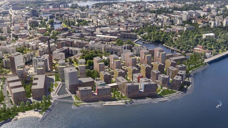 Myytävät asunnot ja uudiskohteet Tampereen Ranta-Tampella