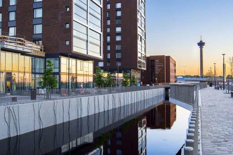 Myytävät asunnot ja uudiskohteet Tampereen Ranta-Tampellassa.