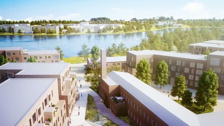 Hämeenlinnan Asemanranta aluekuva