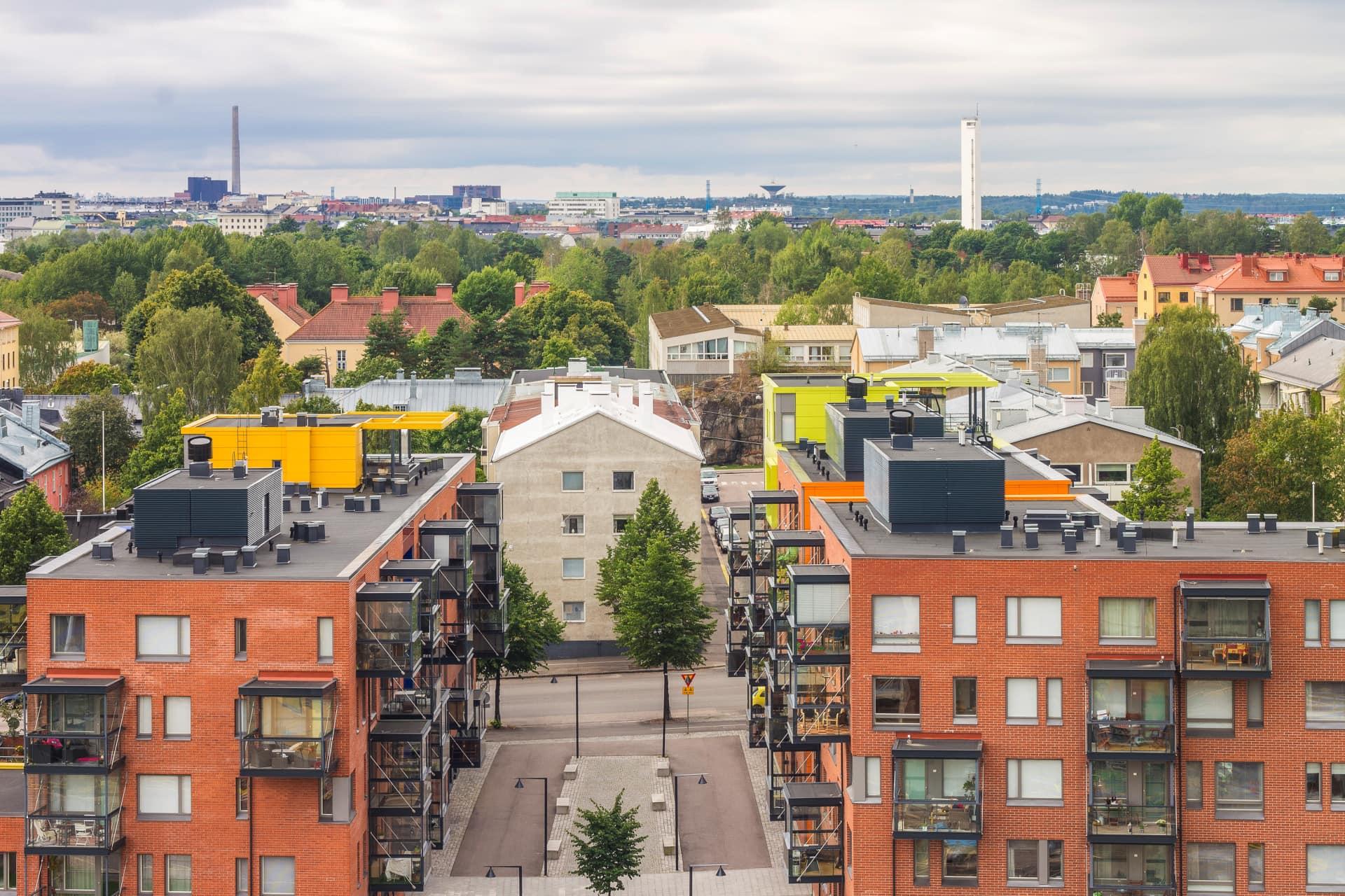 Myytävät asunnot Helsingin Vallilan Konepaja